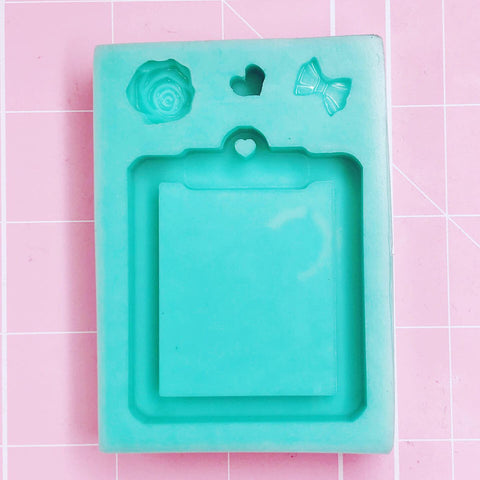Rectangle Mold - Clipboard (Backed) - Chala Atelier & Supplies