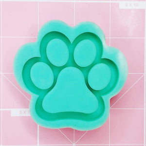 Small Paw Mold - Paw Shaker - Chala Atelier & Supplies