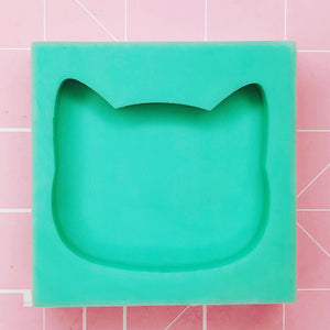 Medium Mold - Cat Head - Chala Atelier & Supplies