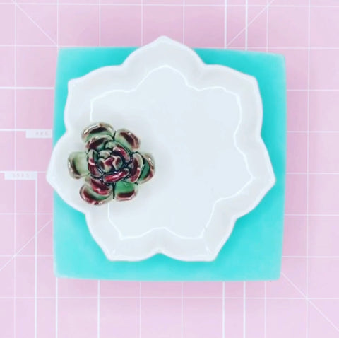 Tray Mold - Succulent Dish / Tray - Chala Atelier & Supplies