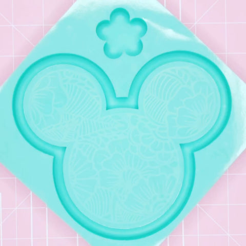 Tray Mold - Tropical Mickey Tray (Backed) - Chala Atelier & Supplies