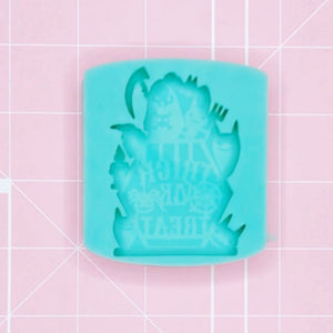 "BF2020 -Single Cavity Mold - Spooky ""Trick or Treat"" [Solid]"