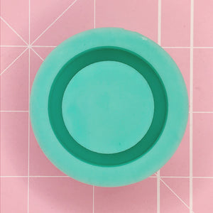 Round Mold - Circle Grippie (Backed Shaker) - Chala Atelier & Supplies