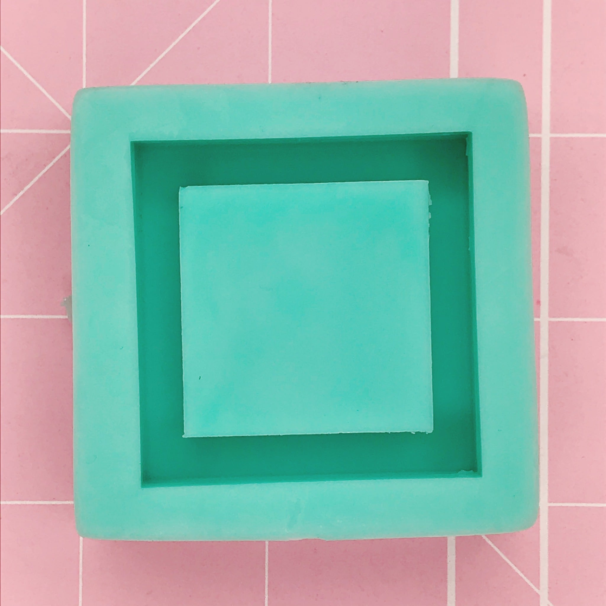 Square Mold - Square Grippie (Backed Shaker) - Chala Atelier & Supplies