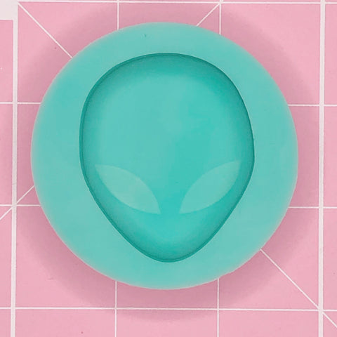 Single Grippie Mold: Alien Head [Etched / Solid]]
