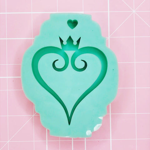 Medium Mold - K. Hearts (Backed) - Chala Atelier & Supplies
