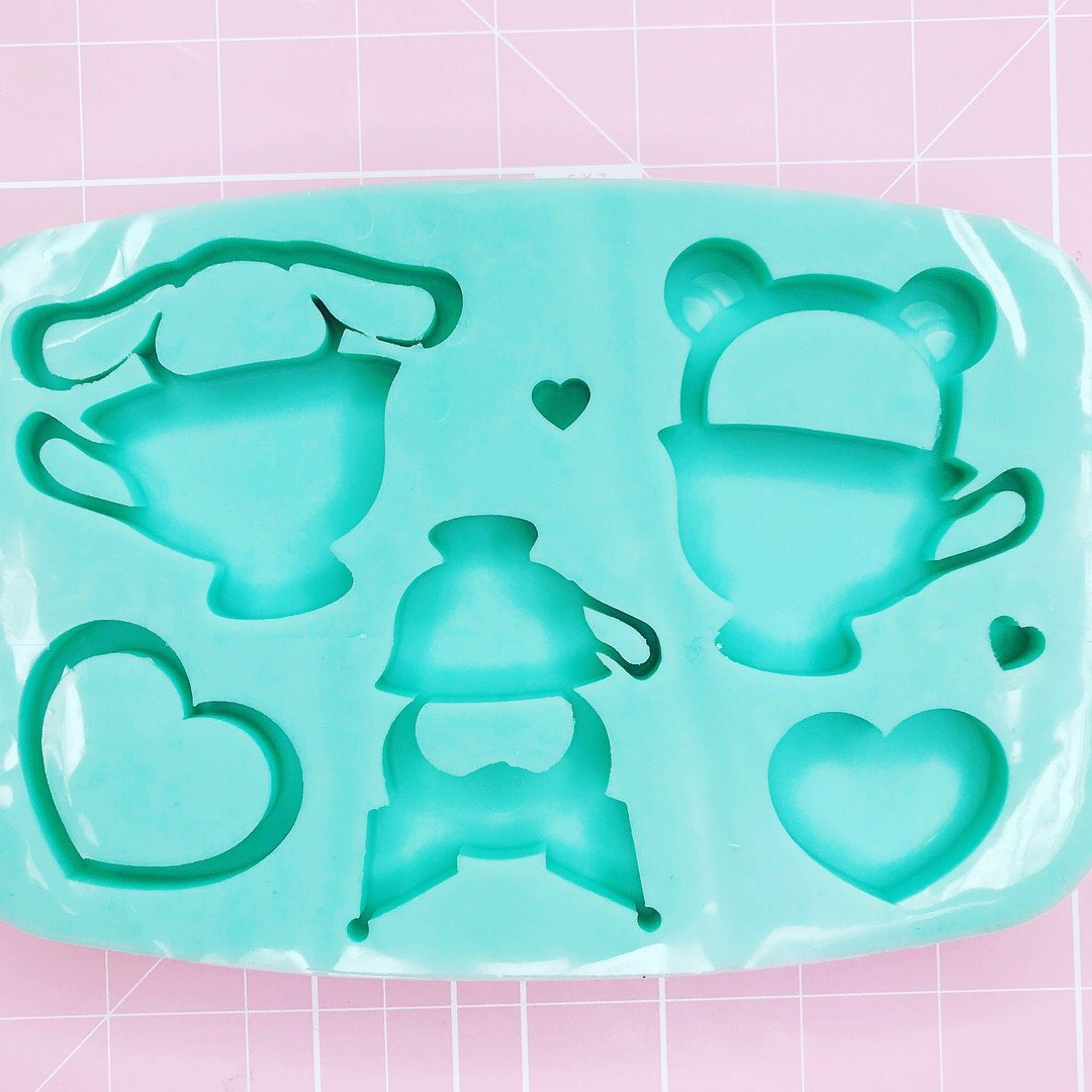 BF2020 -Palette Mold: Tea Time Palette