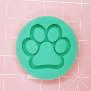 Small Round Mold - Paw Shaker - Chala Atelier & Supplies