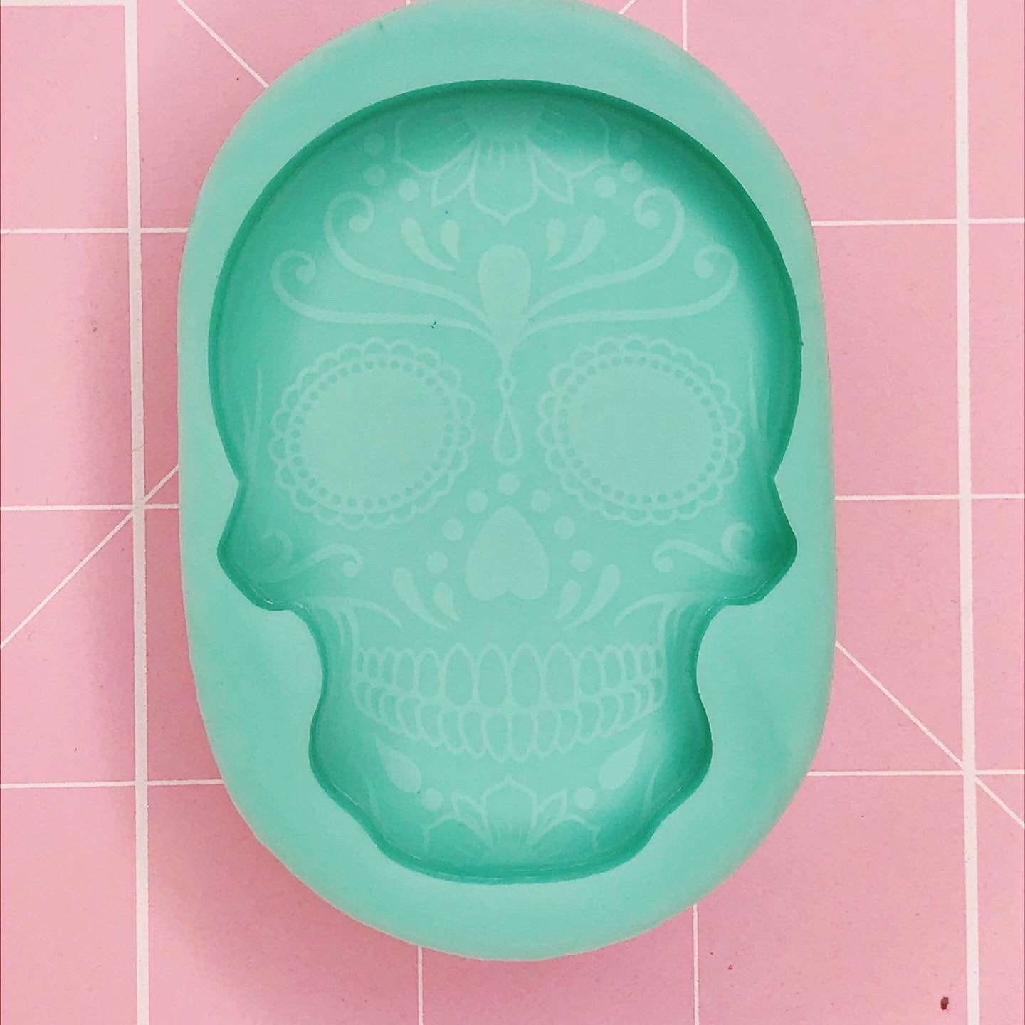 BF2020 -Single Cavity Mold:  Sugar Skull v2