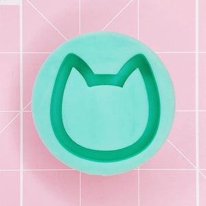 Grip Mold - Cat Head v2 (Backed Grippie) - Chala Atelier & Supplies