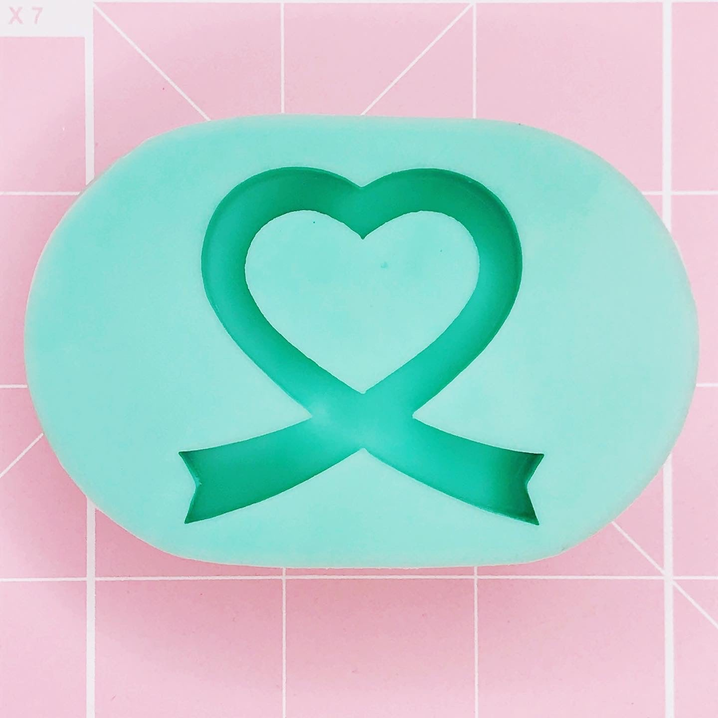 Grip Mold - Awareness Ribbon (Backed Grippie) - Chala Atelier & Supplies