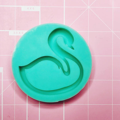 Round Mold - Swan (Backed Shaker) - Chala Atelier & Supplies