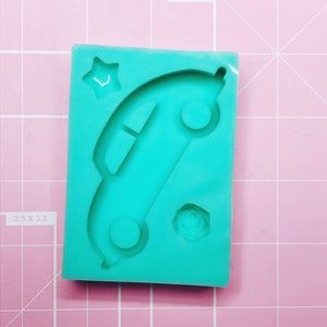 Rectangle Mold -  V Dub (Backed Shaker) - Chala Atelier & Supplies
