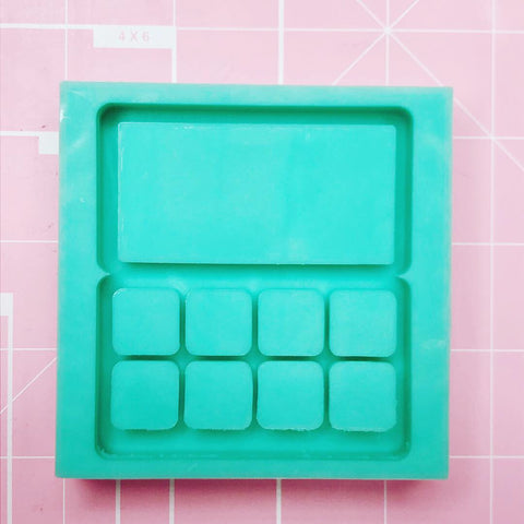 Medium Square Mold -  Makeup Palette (Backed Shaker) - Chala Atelier & Supplies