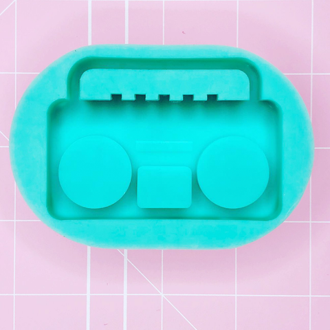 Boom Box Mold (Backed Shaker) - Chala Atelier & Supplies