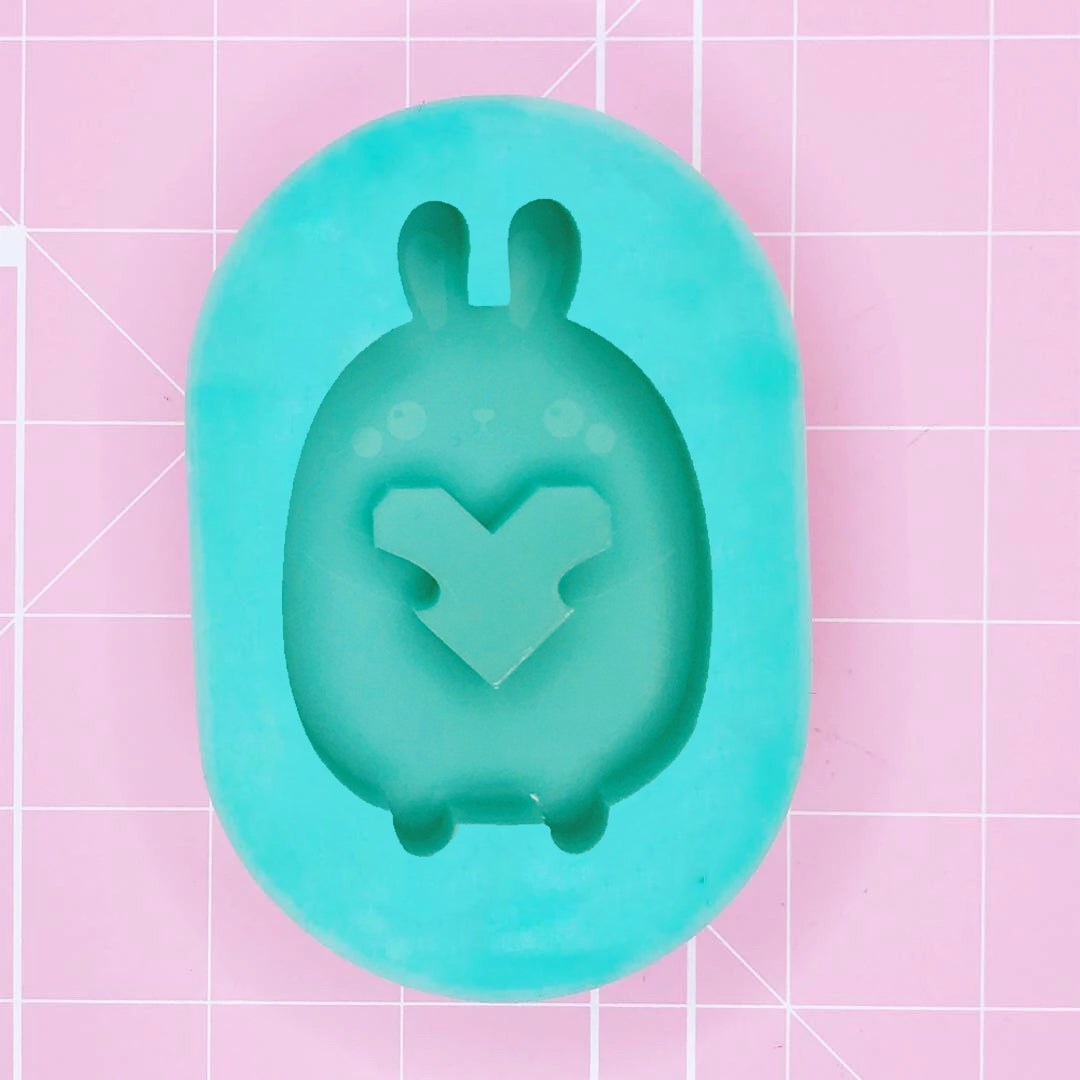 Oval Mold - Choobie Bunni (Backed) - Chala Atelier & Supplies