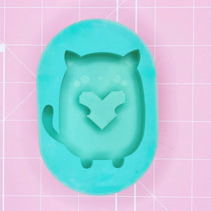 Oval Mold - Choobie Kitty (Backed) - Chala Atelier & Supplies