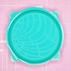 Tray Mold: Concha / Pan Dulce (Round) -  [Etched / Backed]