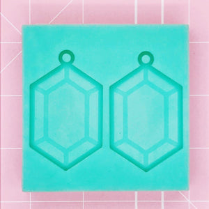 BF2020 -Earring Mold: Rupee Earrings v3 - Etched [Solid]