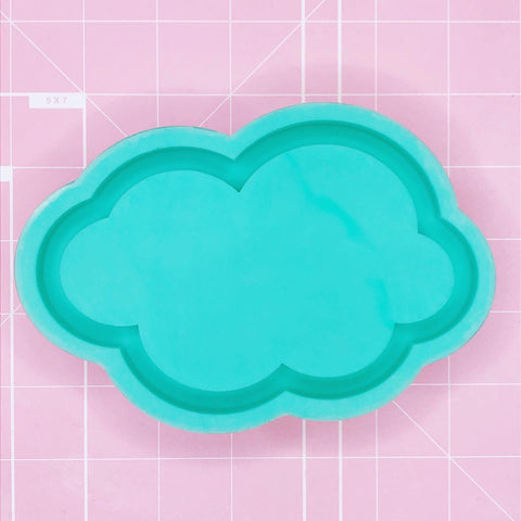 Tray Mold - Puffy Cloud (Backed) - Chala Atelier & Supplies