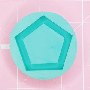 Round Mold -  Pentagon (Backed Shaker) - Chala Atelier & Supplies