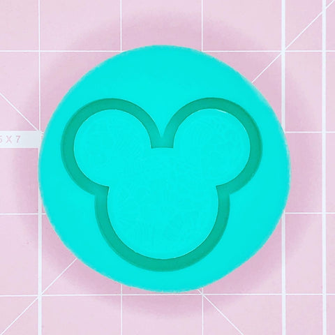 Grippie Mold - Tropical Mickey Grippie (Backed Shaker) - Chala Atelier & Supplies
