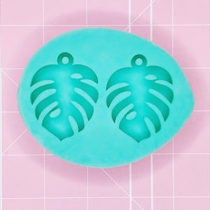 Earring Mold - Monstera Earrings (Solid) - Chala Atelier & Supplies