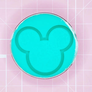 Mouse Mold - Tropical Mickey (Backed Shaker) - Chala Atelier & Supplies