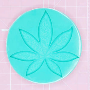 420 Mold - Smoky 420 Leaf (Etched) - Chala Atelier & Supplies