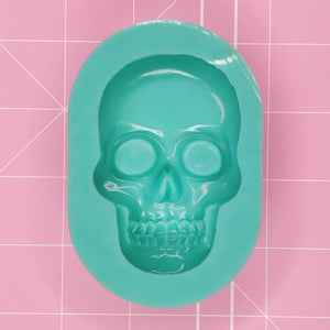 Oval Mold - 3D Skull - Chala Atelier & Supplies