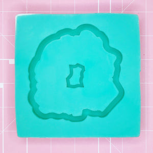 Coaster mold - Agate / Geode - Chala Atelier & Supplies