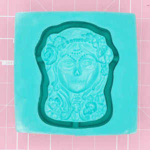 Tray Mold: Sugar Skull Dish / Tray