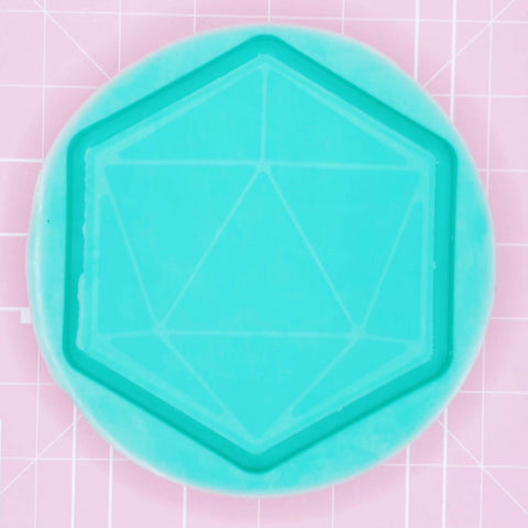 Tray Mold - Blank D20 Tray (Backed) - Chala Atelier & Supplies