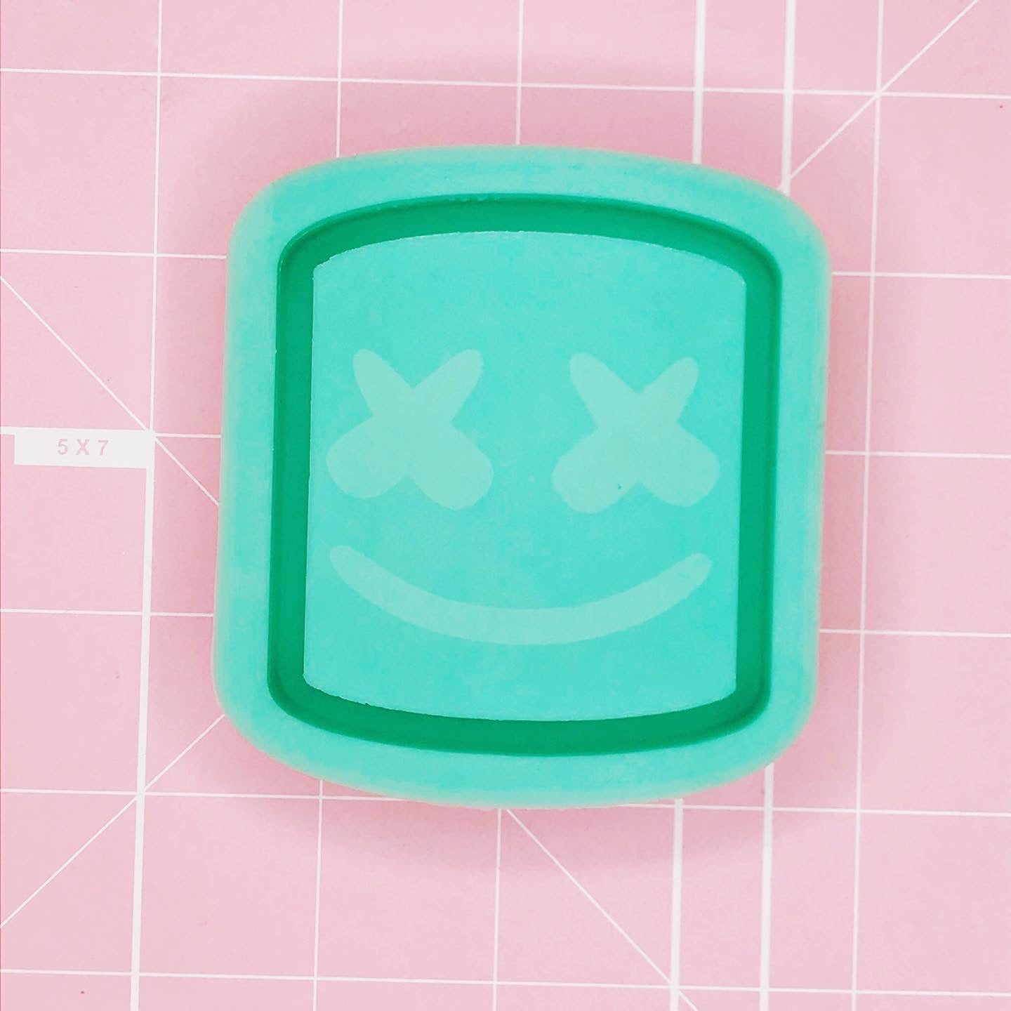 Rectangle Mold - Marshmello (Backed) - Chala Atelier & Supplies