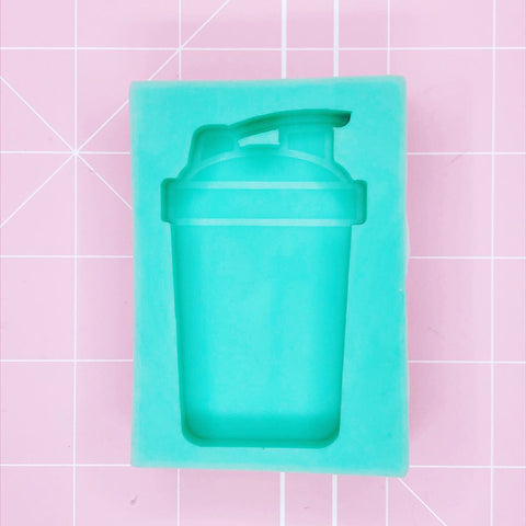Small Rectangle Mold -  Blender/Protein Shaker Bottle (Solid) - Chala Atelier & Supplies