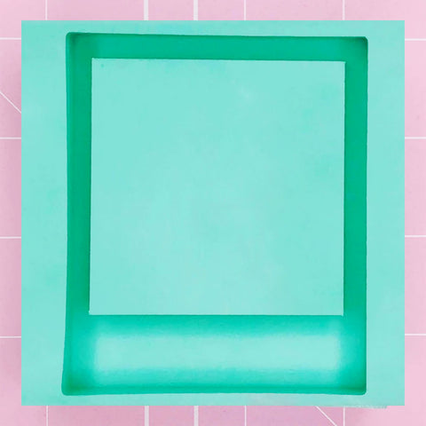 Square Mold - Polaroid (Backed) - Chala Atelier & Supplies