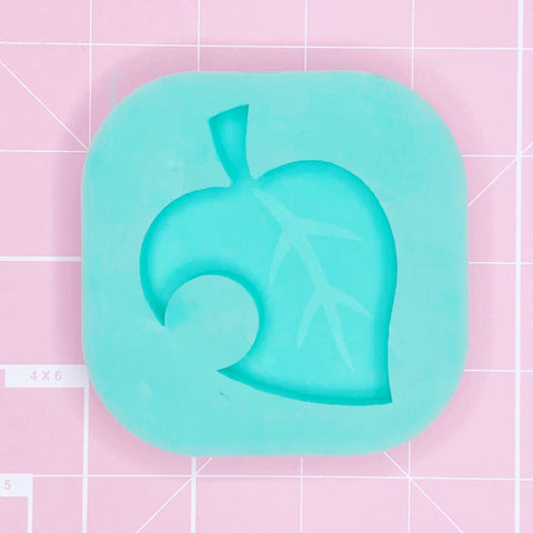 Single Cavity Mold  - ACNH Leaf [Solid]