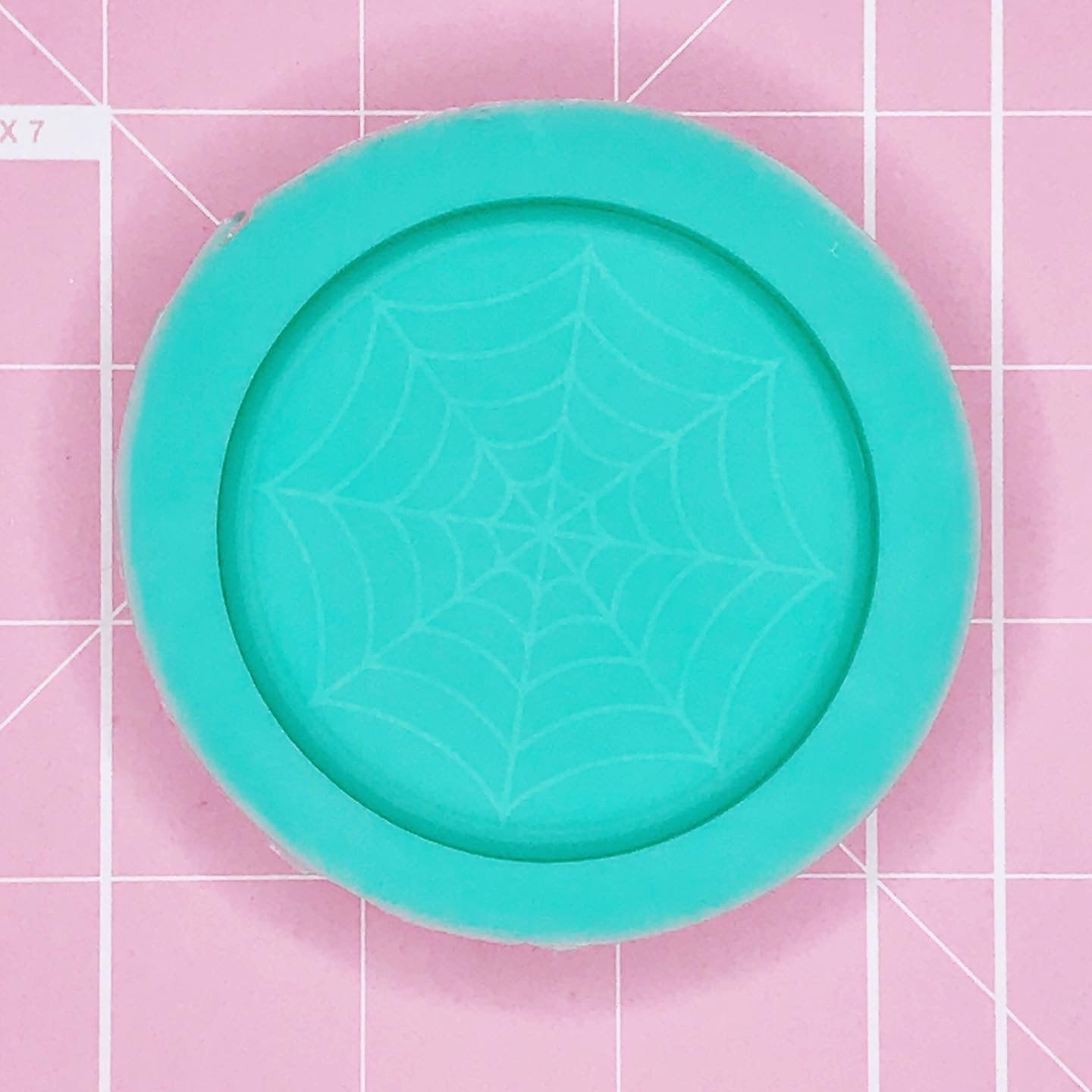 Single Cavity Mold: Spider Web [Solid]