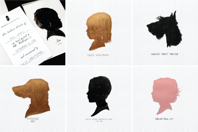Handpainted Silhouettes
