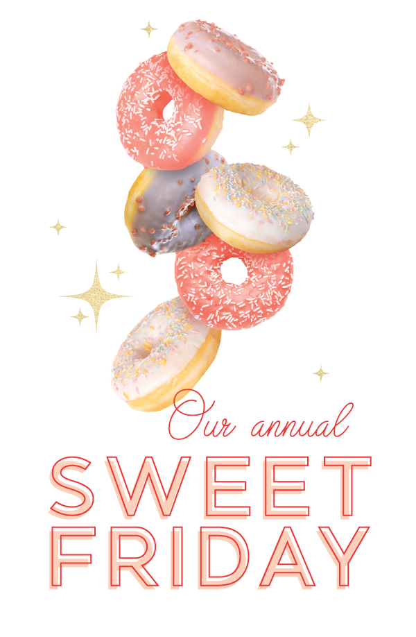 Our Annual Sweet Friday (with mini donuts!)