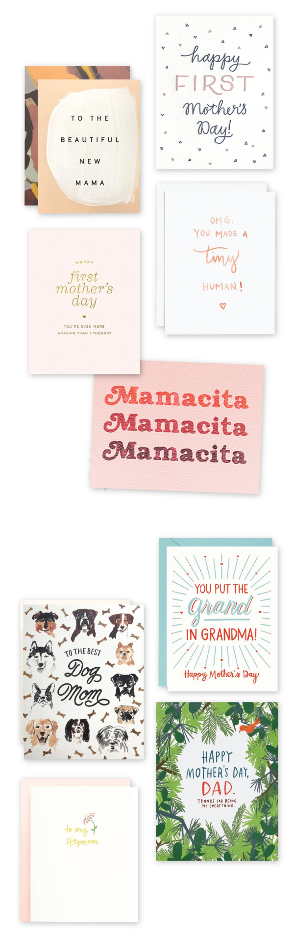 Urbanic Paper  •  Dear Mom  •  Mother's Day Cards 2021