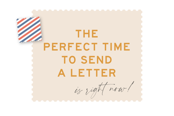 Urbanic Paper Venice Snail Mail Perfect Time Design USPS