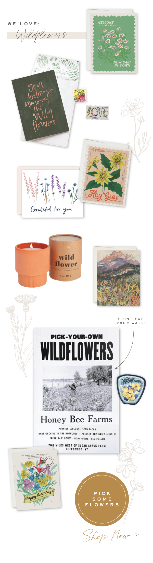 Urbanic loves Wildflowers