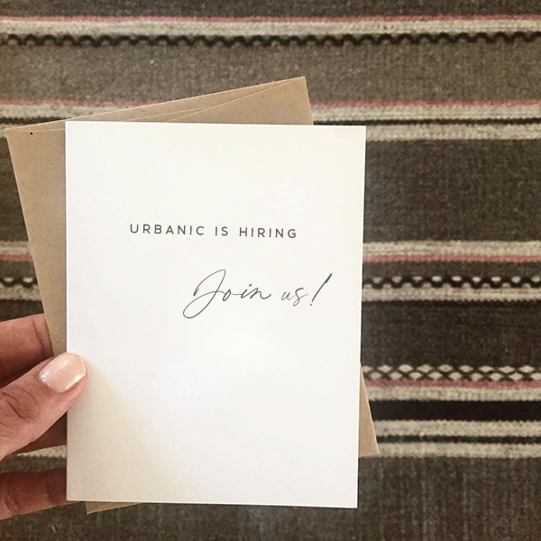 Urbanic is hiring — join our team!