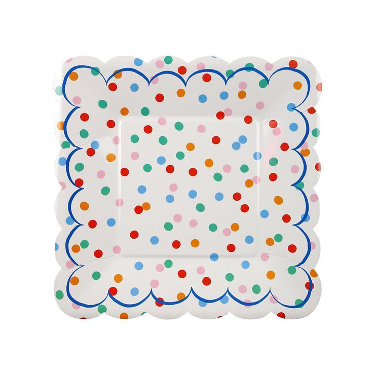toot sweet spotty plate - small