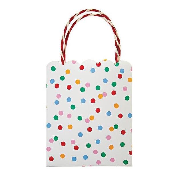 toot sweet spotty party bags - set of 8