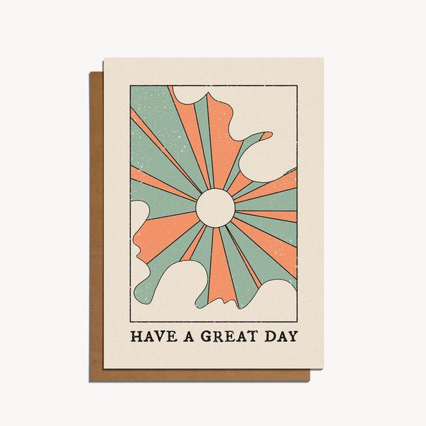 have a great day sun card