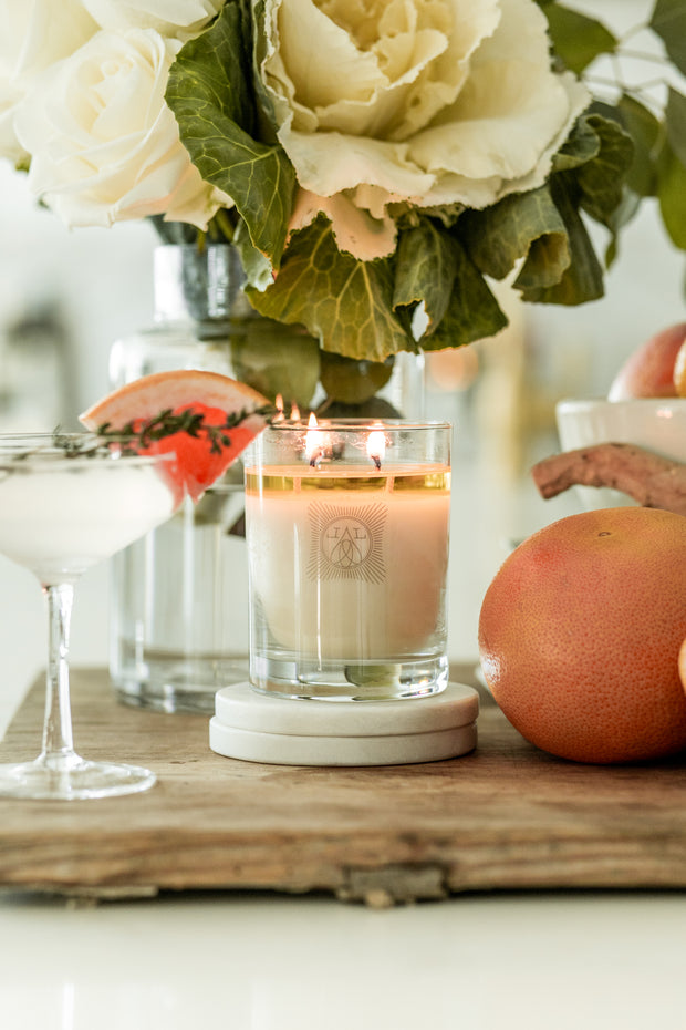 grapefruit 2-wick 11 oz candle