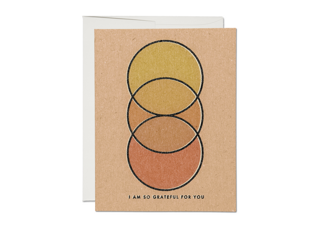 grateful circles thank you cards- set of 8
