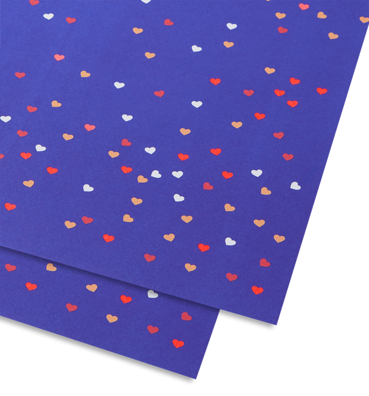 little love wrapping sheet